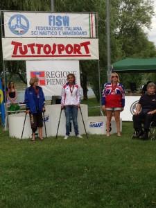 podium slalom